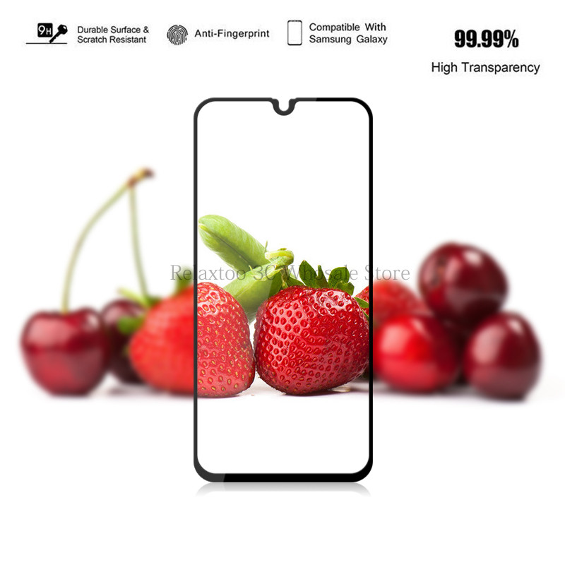 Image 5 - 3D Tempered Glass For Samsung Galaxy A50 A40 A30 a70 a20 a20E a10 Screen Protector on Sumsung Galax A 50 40 30 Protective glas-in Phone Screen Protectors from Cellphones & Telecommunications