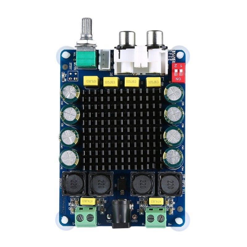 Hot Tda7498 Class-D High Power Digital Amplifier Board 2X 100W Amplifiers Dual Channel Stereo Amp Module