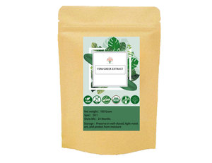 Fenugreek Extract organic fenugreek seed extract 20:1 Furostanol saponins Hydroxyisoleucine
