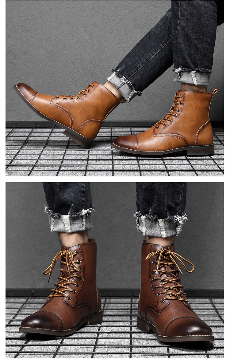 LEATHER BOOTS (8)