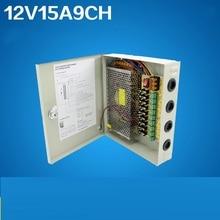 Box Distribution Power-Supply CCTV 12V To DC AC 15A Metal for Surveillance-Camera 110-240v