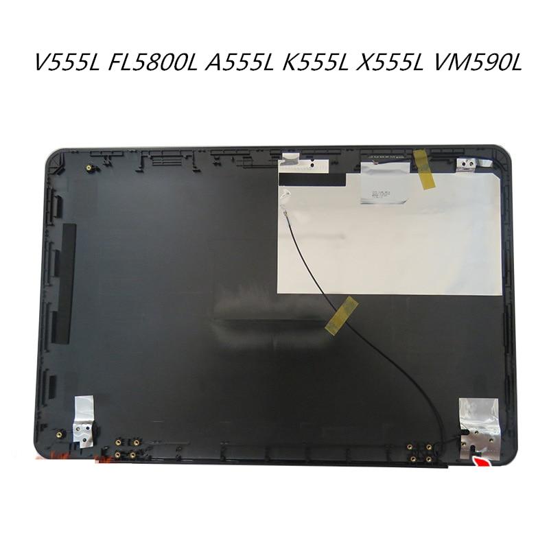 Back Cover Screen Lid Screen Cap For Asus V555L FL5800L A555L K555L X555L VM590L Bezel Front Frame Housing