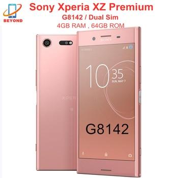 "Sony Xperia XZ Premium G8142 Dual Sim Octa Core RAM 4GB ROM 64GB 5,46 ""NFC Snapdragon 835 teléfono móvil"