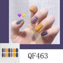 14 стикеров наклейки для ногтей 3d Алмазные корейские высококачественные
