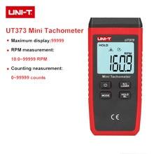 Mini digital tacômetro laser não-contato motortacômetro elétrico faixa de medição 10-99999 rpm tester velocímetro UNI-T ut373