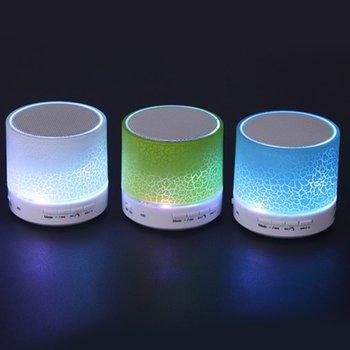 Sago A9 Bluetooth Speaker Mini Wireless Loudspeaker Crack LED TF USB Subwoofer bluetooth Speakers mp3 stereo audio music player