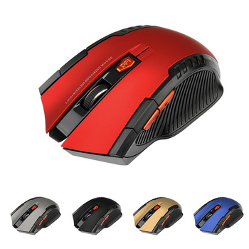 2.4GHz Wireless Mice With USB Receiver Gamer 2000DPI Mouse For Computer PC Laptop vmw 138 2 4g wireless 2000dpi laser mouse white grey 2 x aaa