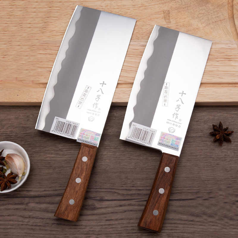 Cleaver Knife Japan Kitchen Chef Knives Wood Handle Meat Fruit Vegetable Fish Butcher Knife Chinese Cleaver High Carbon Knives