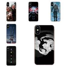 Quote Case Slim The Witcher 3 Wild Hunt For Samsung Galaxy Note 5 8 9 S3 S4 S5 S6 S7 S8 S9 S10 5G mini Edge Plus Lite(China)