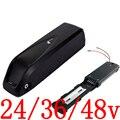 Бесплатная доставка 24V 36V 48V электрический велосипед Батарея 8AH 10AH 12AH 13AH 14AH 15AH 17AH 18AH, фара для электровелосипеда в Батарея-серые кисточки с 2A з...