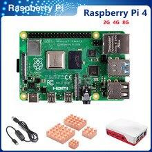 Itinit k2 mais recente raspberry pi 4 modelo b com 1/2/4/8gb ram raspberry pi 4 bcm2711 quad core Cortex-A72 braço v8 1.5ghz speeder