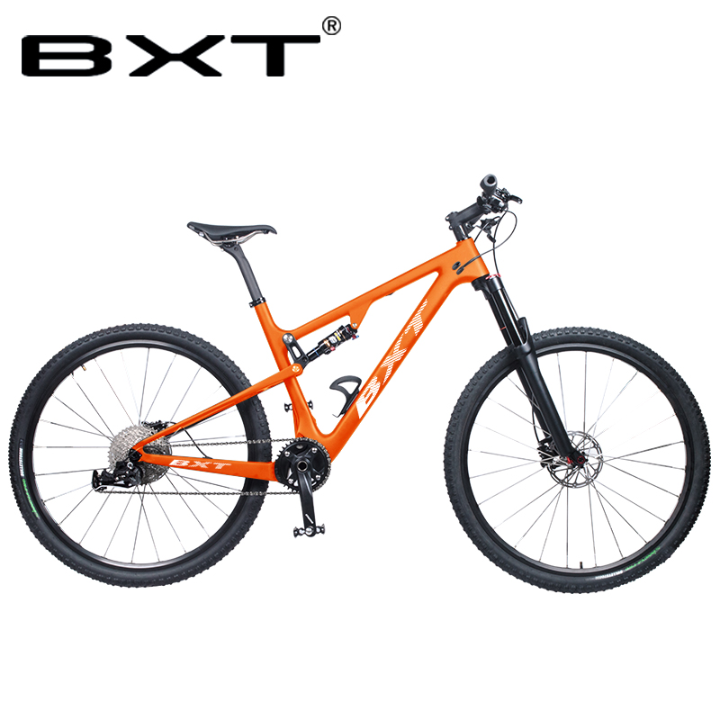 29er Mountain Suspension Bicycle Full Carbon 29