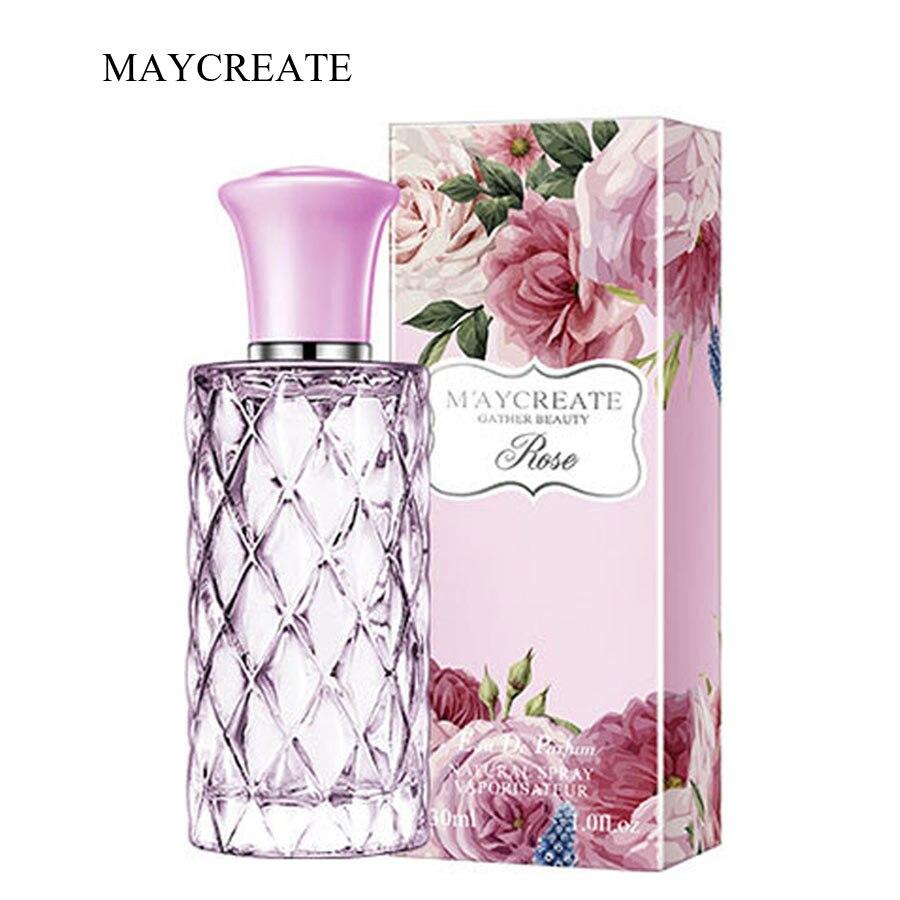MayCreate 30ml Flower Perfume For Women Long Lasting Fresh And Elegant Female Parfum Natural Oriental Taste