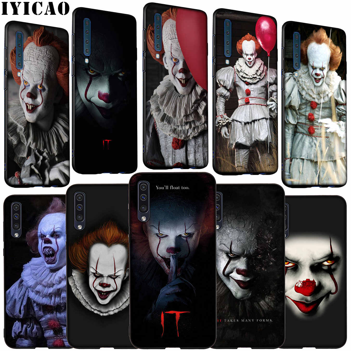 Iyicao De Film Het Pennywise Soft Silicone Case Voor Samsung Galaxy A70 A60 A50 A40 A30 A20 A10 M10 M20 m30 M40 A20E Cover
