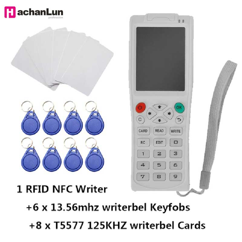 ICopy 3/5 NFC IC Copier's Latest ICopy5 RFID ID Reader Writer Duplicate English Version Full Decoding Function Smart Card Key