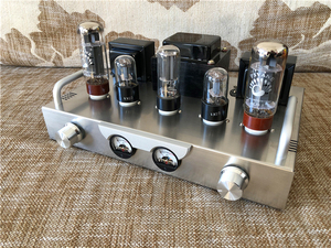 Image 2 - Sparta X1 Vacuum Tube Power Amp HiFi 6H9C+EL34+5U4CTube Amplifier KIT DIY New