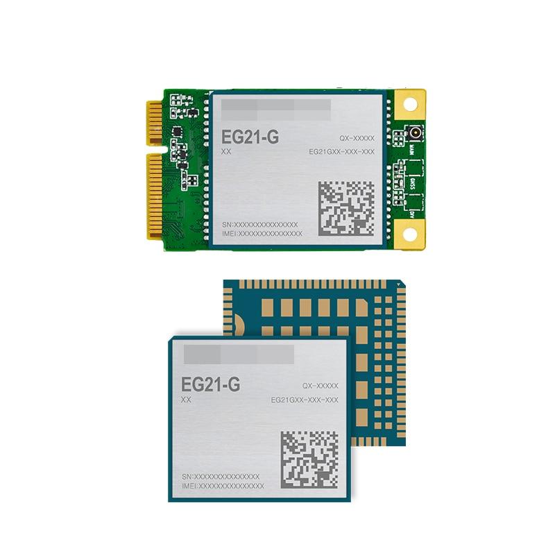 EG21-G Mini PCIe LTE Category 1 Module Worldwide LTE, UMTS/HSPA(+) And GSM/GPRS/EDGE Coverage GPS GLONASS BeiDou Galileo QZSS