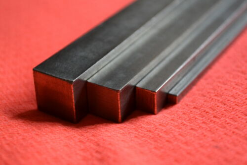BRIGHT MILD STEEL SQUARE BAR  2MM 3MM 4MM 5MM 6MM 7MM 8MM  10MM 12MM 14MM 16MM 18MM Length 300mm