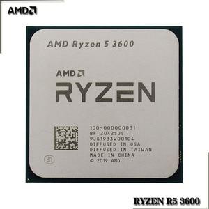 Image 2 - AMD Ryzen 5 3600 R5 3600 3.6 GHz Six Core Twelve Thread CPU Processor 7NM 65W L3=32M 100 000000031 Socket AM4