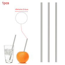 Brush Mugs-Bar-Accessories Metal-Straw Drinking-Tube Cleaner Stainless-Steel Portable