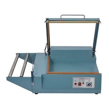 Máquina FQL-380 sellado y corte de Film retráctil, máquina eléctrica de sellado y sellado de película plástica