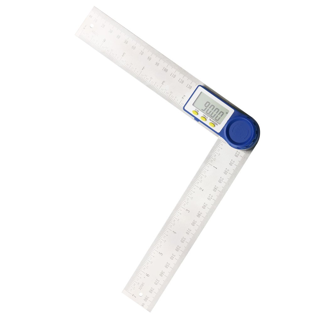 360 Degrees Digital Meter Angle Inclinometer Angle Digital Ruler Electron Goniometer Protractor Angle Finder Measuring Tool