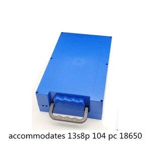 Image 3 - 48V 60V 72V 20Ah 12Ah Contenitore di Batteria Al Litio 18650 Li Ion Cellulare Pack Custodia Borsette Holder FAI DA TE EV eBike E Bike ABS