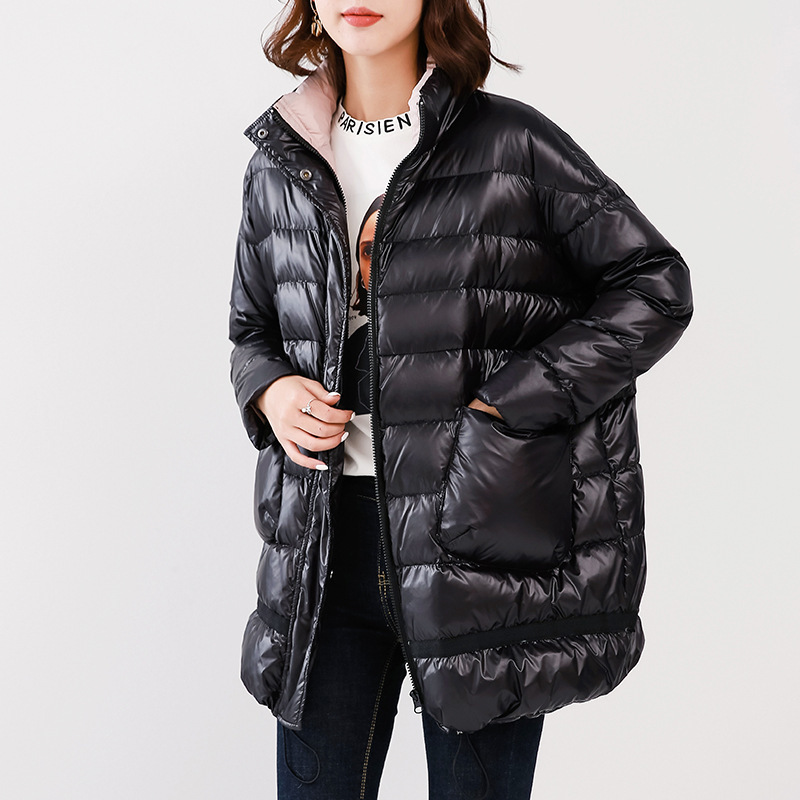 90% White Duck Down Jacket Fashion Winter Coat Puffer Womens Down Jacekts Plus Size 2020 Piumino Donna WFWZ83W06 KJ3676