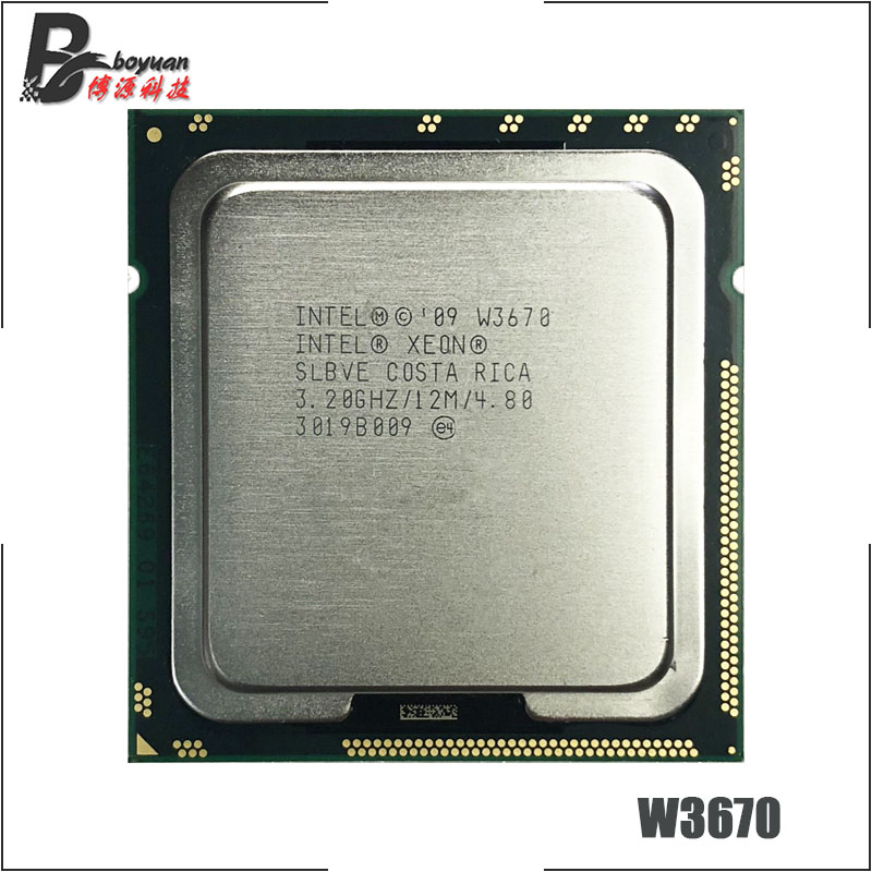 Bảng giá Intel Xeon W3670 3.2 GHz Six-Core Twelve-Thread CPU Processor 12M 130W LGA 1366 Phong Vũ