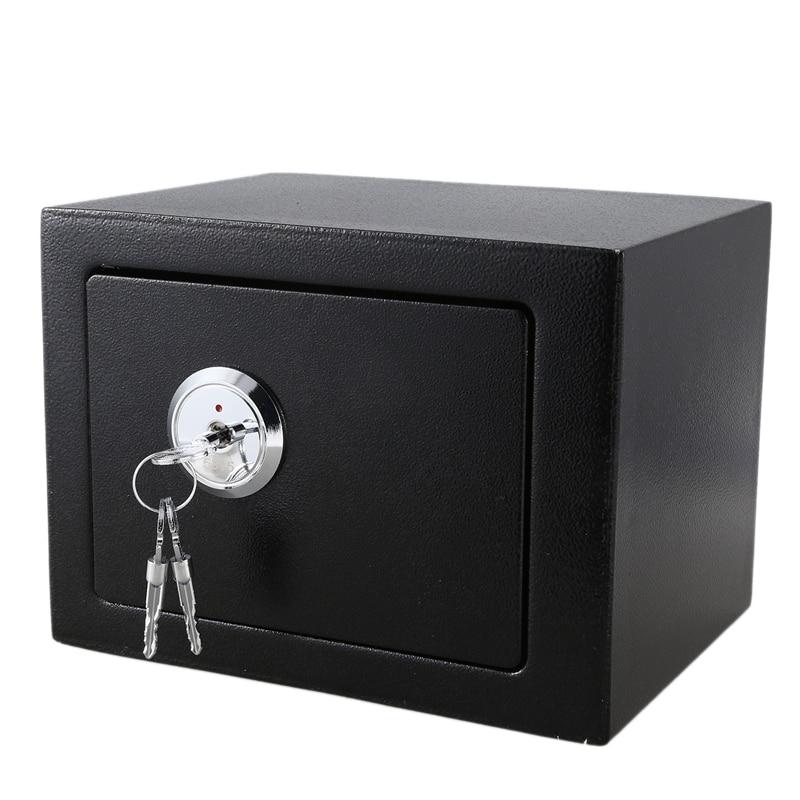 Safe Box Key Operation Money Cash Storage Home Officec