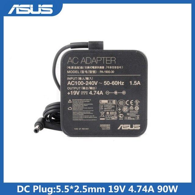 19V 4.74A 90W адаптер для ноутбука 5,5*2,5 мм ADP 90YD B PA 1900 30 AC зарядное устройство для Asus A42F K550D A55V A8 F80S X43SA EXA1202YH