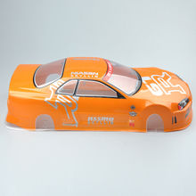купить PVC Body Shell&Rear RC 190mm Ring 020O For HSP HPI 1/10 On Road Drift Car дешево