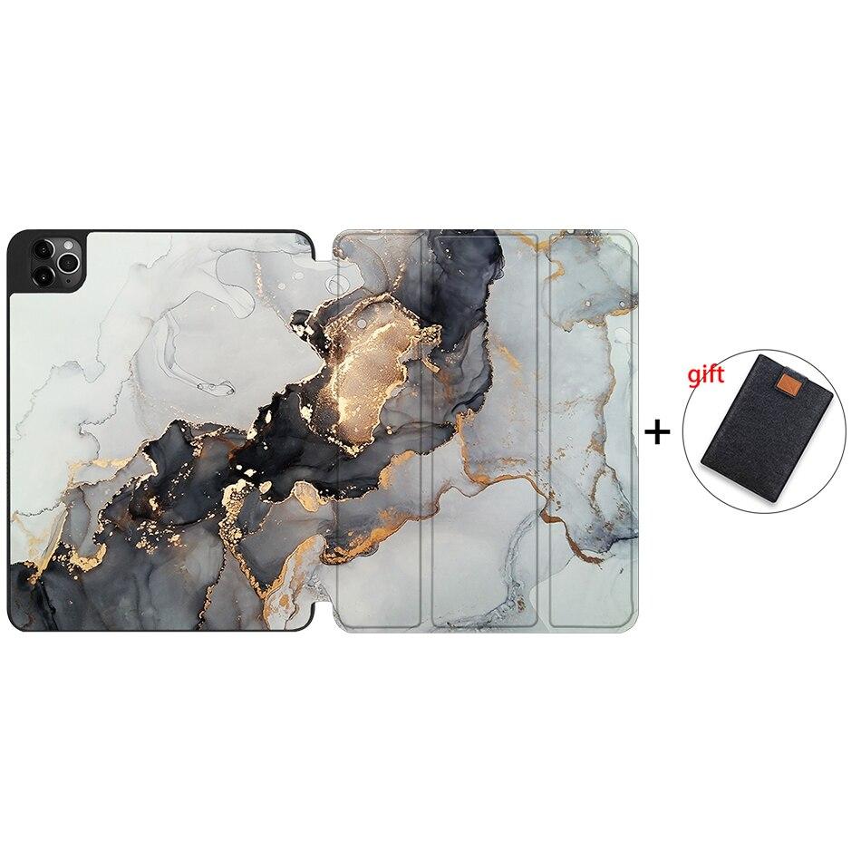 IPTPU01 Red MTT 2020 Tablet Case For iPad Pro 12 9 4th Gen A2229 A2233 Soft TPU PU