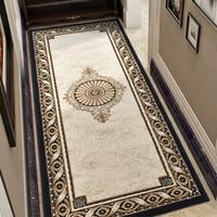 European Style Bedroom Carpets Home Bedside Thick Rug Modern Corridor Hallway Carpet Luxury Court Tatami Mat Door Entrance Rug