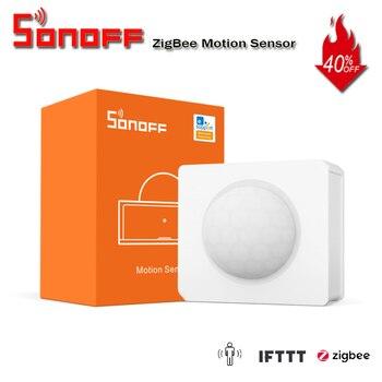 SONOFF SNZB-03 ZigBee Motion Sensor Handy Smart Device Detect Motion Trigger Alarm Work with ZigBee Bridge via eWeLink APP IFTTT 1