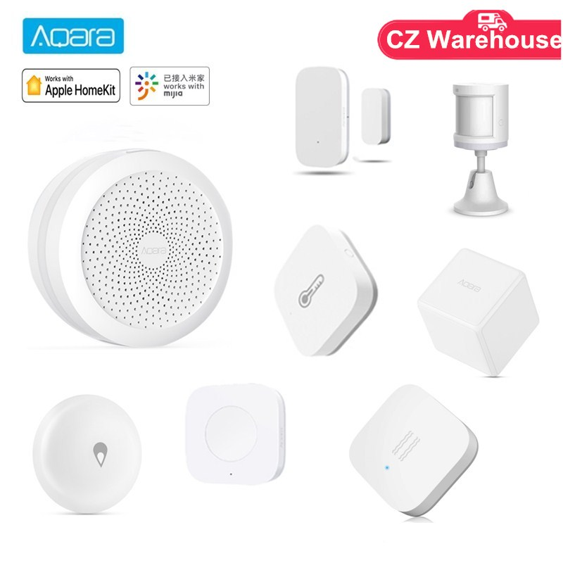 Aqara Hub Human Body Sensor Temperature Sensor Water Leak Sensor Wireless Switch Works With Mihome Apple Homekits