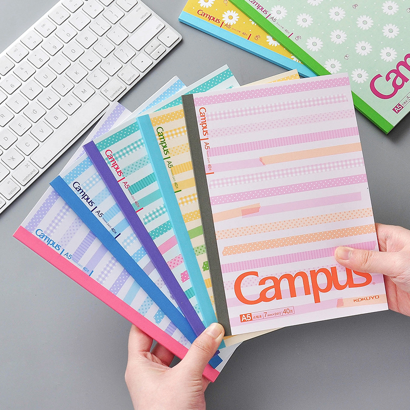4/5pcs Set Creative A5 B5 Colored Notebook Index Page Diary Planner Paper Note Book Category Pages Stationery Checkered Grid