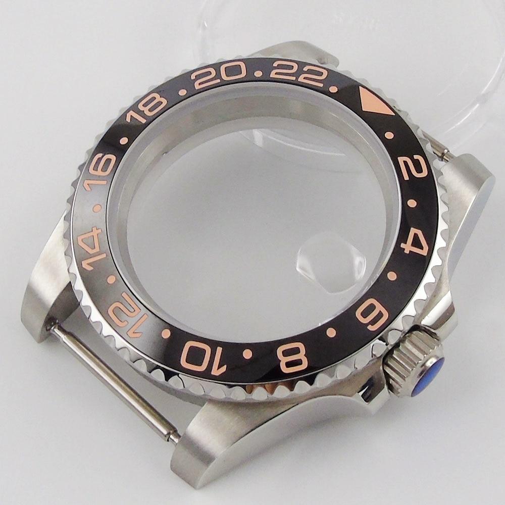 Ajuste nh35 nh36 movimento relógio de aço