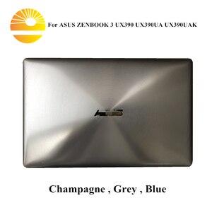 Image 1 - 12.5 Inch Full Lắp Ráp Dành Cho ASUS ZENBOOK 3 UX390 UX390UA UX390UAK Laptop Hoàn Chỉnh Màn Hình Hiển Thị LCD Sreen Tấm Khung Trên một Nửa