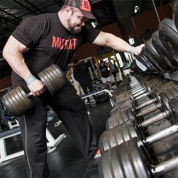 Męskie koszulki do biegania szybka kompresja na sucho t-shirty sportowe Fitness Gym koszulki do biegania koszulki męska koszulka piłkarska odzież sportowa tanie i dobre opinie Pasuje prawda na wymiar weź swój normalny rozmiar Oddychająca