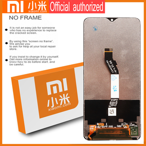 Image 5 - Original 6.53 Display with frame for Xiaomi Redmi Note 8 Pro LCD Display Screen Touch Digitizer Redmi Note8 Pro Repair Parts