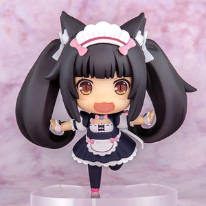Q Posket Nekopara Chocola Vanilla PVC Action Figure Stand Anime Girl Figure Japanese Model Toys Statue Collection Doll Gifts
