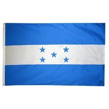 Флаг 3x5fts 90*150 см HND HN Honduras флаг