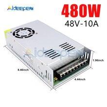 DC 48V 10A 480 W Schalt Netzteil 48V 10A 480 Watt Spannung Konverter Geregelte Schalter Netzteil für LED