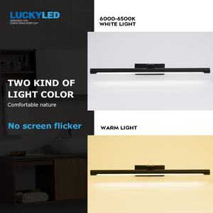 Image 5 - LUCKYLED Led 욕실 조명 벽 램프 8W 12W AC85 265V 현대 Led 미러 빛 방수 벽 마운트 벽 전등