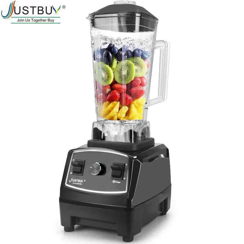 BPAฟรี 2200W Heavy Duty Commercial Blender Professionalเครื่องปั่นผสมอาหารญี่ปุ่นใบมีดJuicer Ice Smoothieเครื่อง