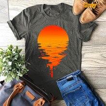 Plus Size S-5XL New Pyramid Print TShirt Women Shirts 100%Cotton O Neck Short Sleeve Summer T Shirt Tops T-shirt Tees