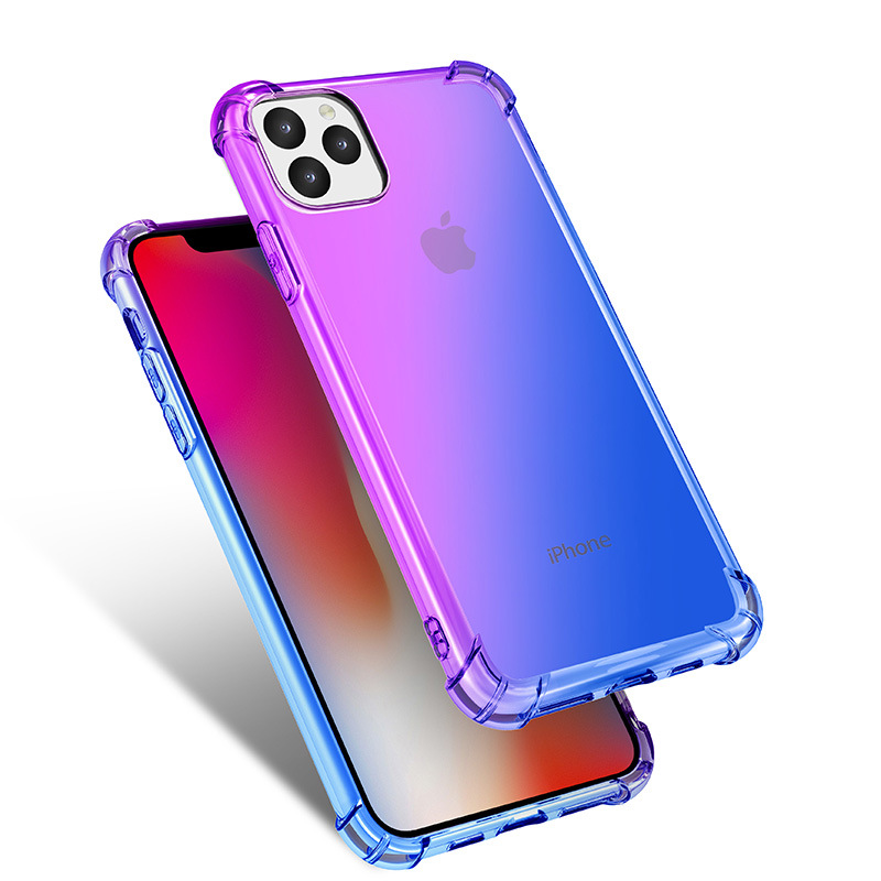 Gradient Clear Silicone Case for iPhone 11/11 Pro/11 Pro Max 3