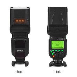 Image 3 - YONGNUO YN968N II flaş Speedlite Canon Nikon DSLR ile uyumlu YN622N YN560 kablosuz TTL Speedlite 1/8000 ile LED ışık