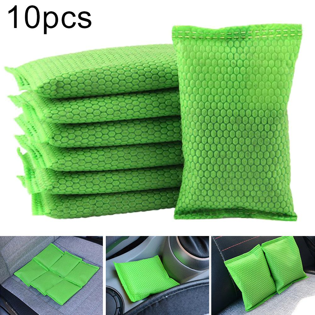 10Pcs Car Nanometer Mineral Crystal Activated Carbon Air Freshener Deodorant Air Freshener Deodorant Air Freshener Deodorant Air